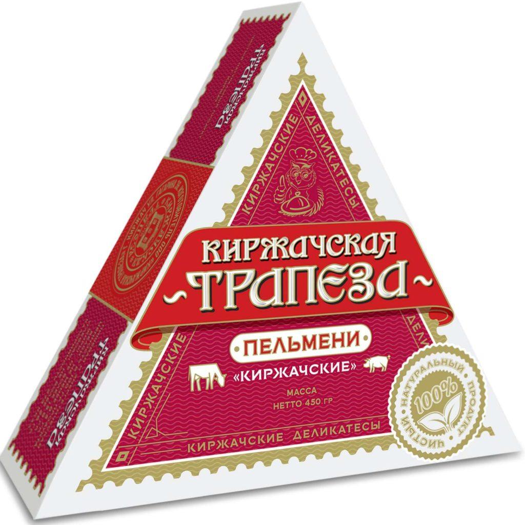Пельмени Киржачские внешний вид упаковки