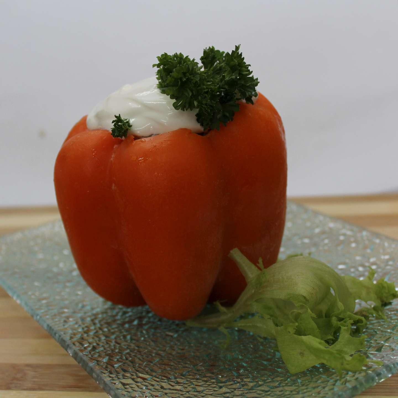 Перец фаршированный внешний вид продукта